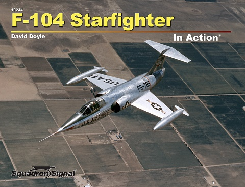 Lockheed F-104 Starfighter in Action  9780897478229