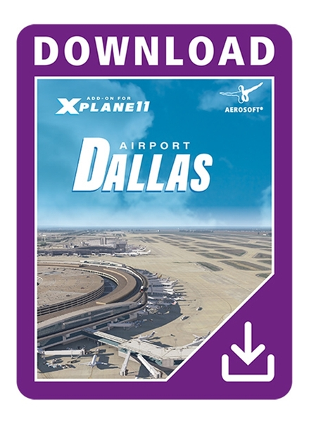 Airport Dallas Fort Worth XP (Download Version)  AS14044-D