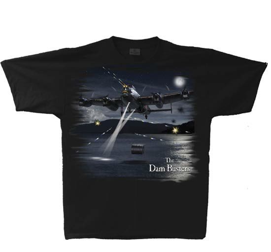 Avro Lancaster Dam Busters Adult T-Shirt