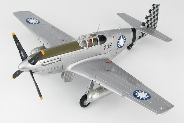 P51C Mustang (205, No 25 Squadron, Chinese Air Force, 1945) (Hobbymaster  HA8511)