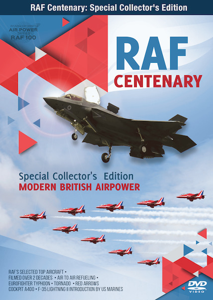 RAF Centenary: SPecial Collector's Edition: Modern British Airpower  0096962101404