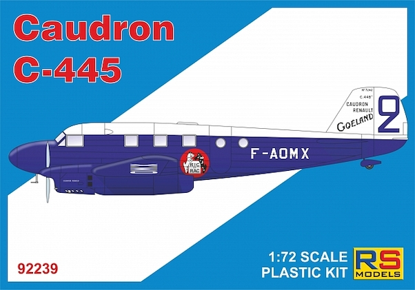 Caudron C.445 Goéland (Reissue with new decals)  RSM92239