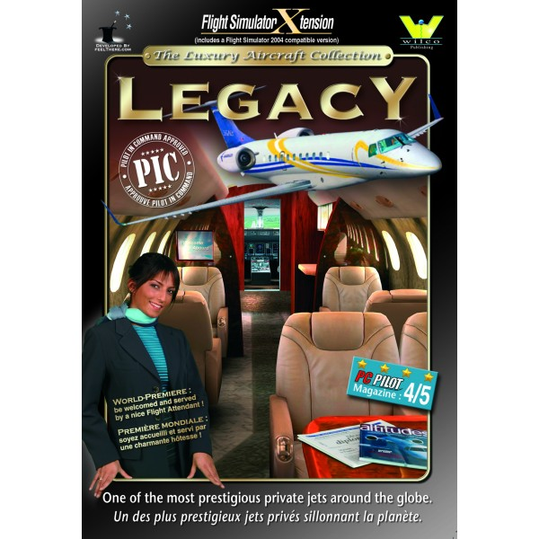 Embraer Legacy Pilot in Command (download version)  0649875001271-D