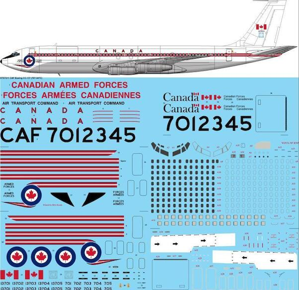 Boeing CC137 (B707-347C) (Canadian Armed Forces)  sts7211