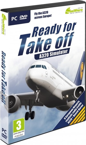 Ready for Take off - A320 Simulator. (Download version)  AS13865-D