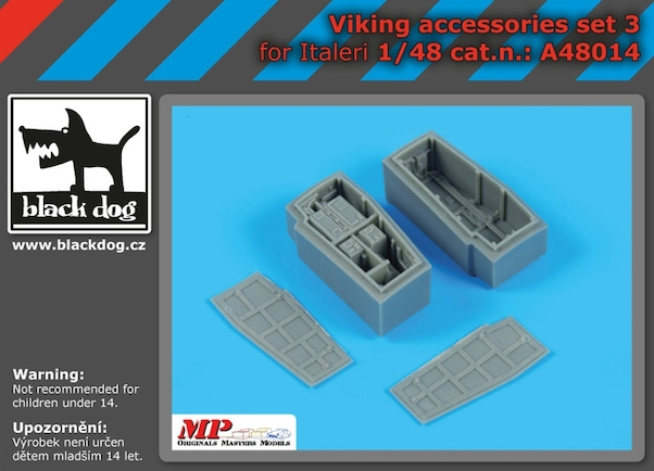 Lockheed S3A accessories set N°3 (Italeri/ESCI)  A48014