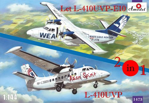 Let 410UVP and Let 410UVP-E10 Turbolet (2 kits included)  amdl1473