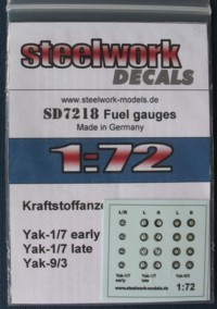 Fuel gauges for Yakovlev fighters  sd7218