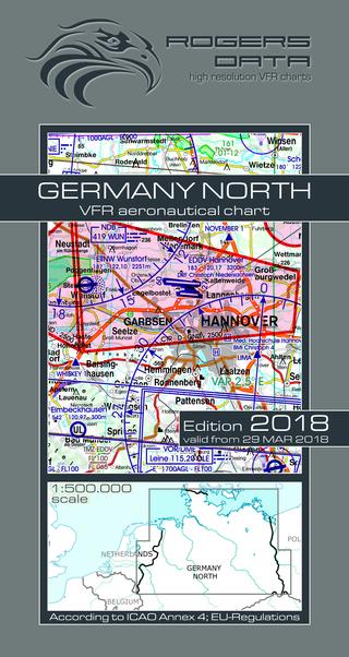 Vfr aeronautical chart germany north 2018 aviationmegastore vfr aeronautical chart germany north 2018 rogers germ n sciox Images