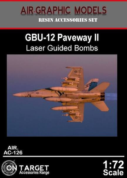 GBU12 Paveway II Laser guided bombs (2x)  AIR.AC-126