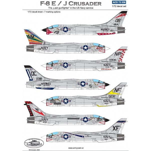 F8E/J Crusader, the last