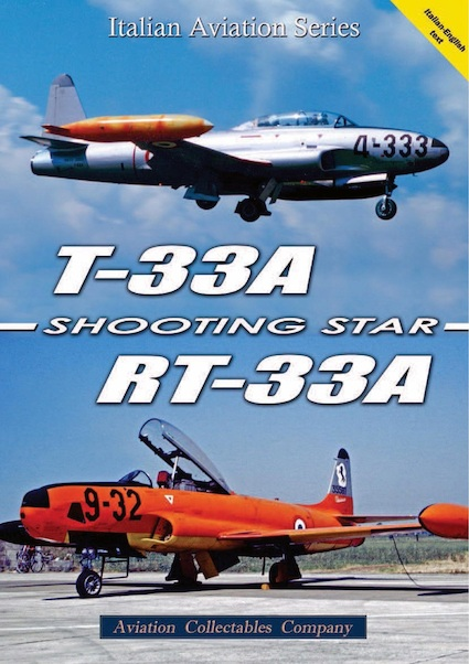Lockheed T33A/RT33A Shooting Star  9788890523151