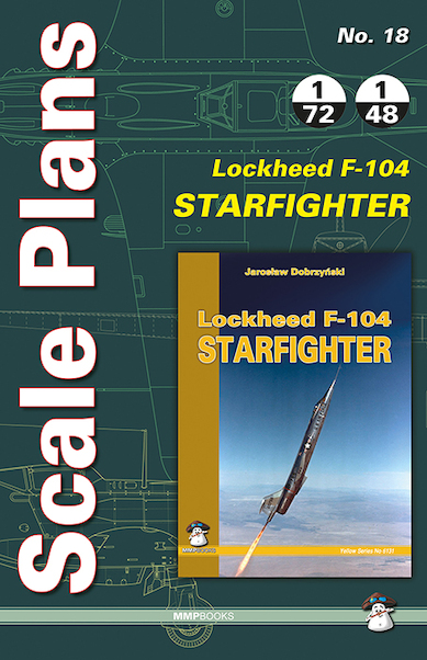 Scale Plans Lockheed F104 Starfighter  9788363678722