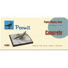 Paper display base 10,3x10,3 cm (Concrete)  M142002