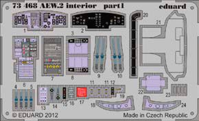 Detailset Sea King AEW2 Interior Self Adhesive (Cyber Hobby)  SS468