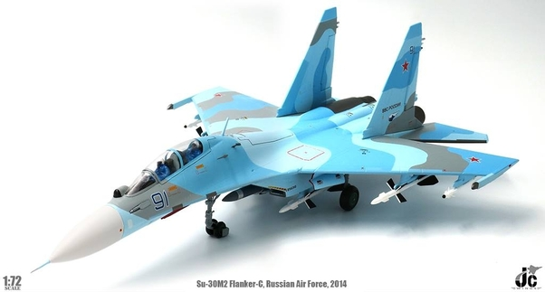 Sukhoi Su30 Flanker-C (Russian Air Force, 2014)  JCW-72-SU30-003