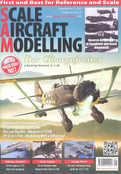 Scale Aircraft Modelling Vol.39 Issue 07 Sept 2017  977095614211609