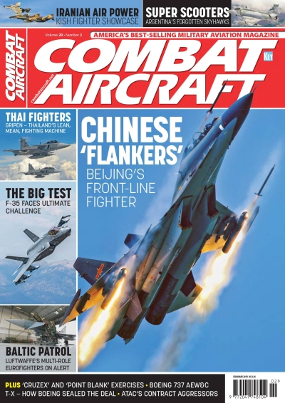Combat Aircraft Volume 20 Number 2 February 2019  002907494389102