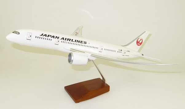 Boeing 787-9 JAL Japan Air Lines  with cockpit and cabin LED lighting  LED787-JAL