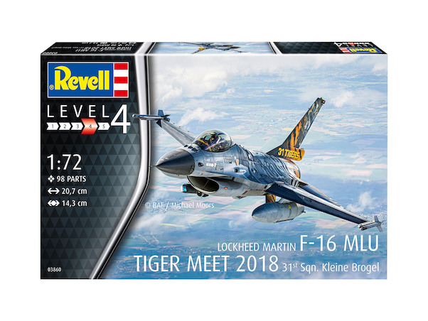 Lockheed Martin F16A MLU (31sq Belgian AF Tiger meet 2018)  03860