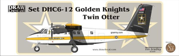 DHC6 Twin Otter (US Army Golden Knights)  72-DHC6-12