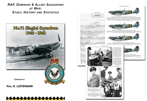 No71 (Eagle) Squadron 1940-1942 Hurricane Spitfire (RAF in Combat 71sq)