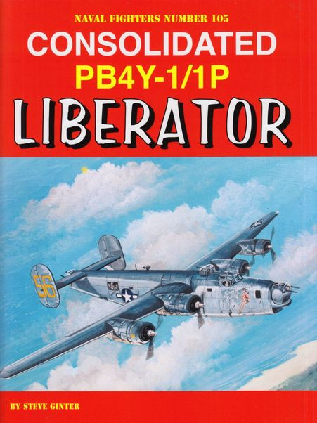 Consolidated PB4Y-1/1 Liberator  9780996825870