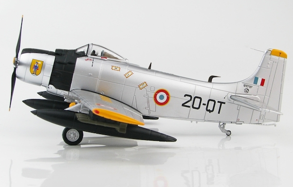 Douglas AD4 Skyraider, EC-2/20, French Air Force, early 1960s  HA2916