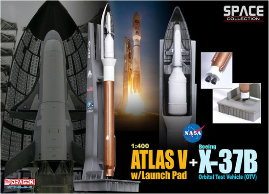 Atlas V w/Launch Pad + X-37B Orbital Test Vehicle OTV  56260