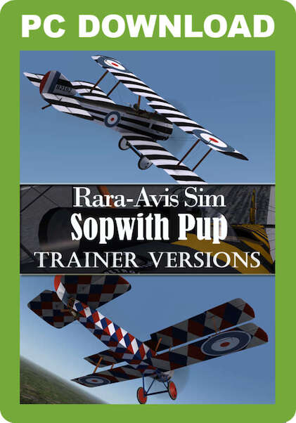 Rara-Avis Sim Sopwith Pup - Naval Versions (Download version)  J3F000111-D