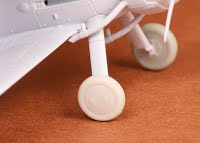 Gloster Gladiatior Wheel set -Covered-  (Airfix)  SBS72018