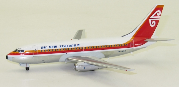 B737-200 (Air New Zealand) ZK-NAE Polished With Stand Limited 60 models  IF7370118PB
