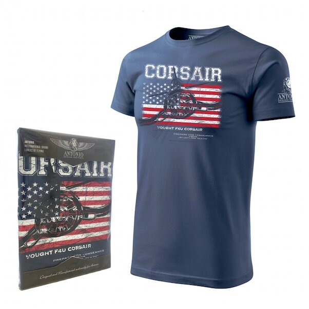 T-Shirt with Vought F4U CORSAIR