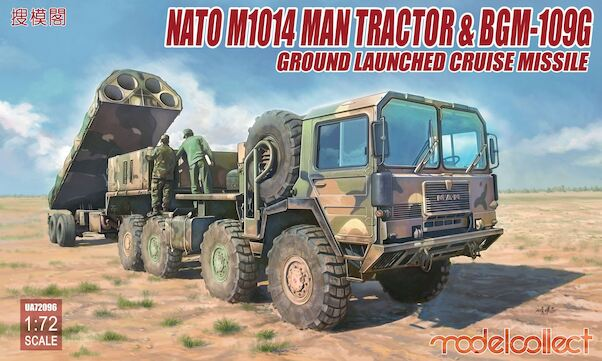 NATO US Army MAN  M1014 Tractor & BGM109G Ground Launched Cruise Missile  UA72096