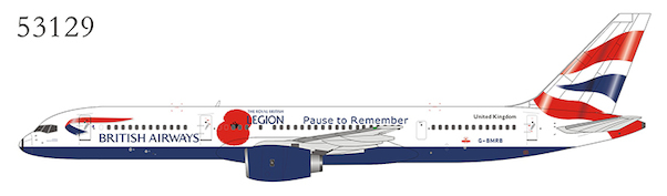 Boeing B757-200 British Airways Union Flag livery