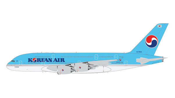 Airbus A380 Korean Air HL7622  G2KAL903