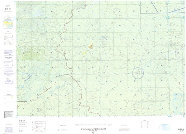 ONC K-4: Available: Operational Navigation Chart for Sudan, Chad, Central African Republic. Available ! additional charts available within five working days. E-mail your requirements.  ONC K-4