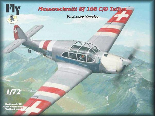Siebel Fh 104 Hallore i Messer Bf-108, 1:72 116373_0