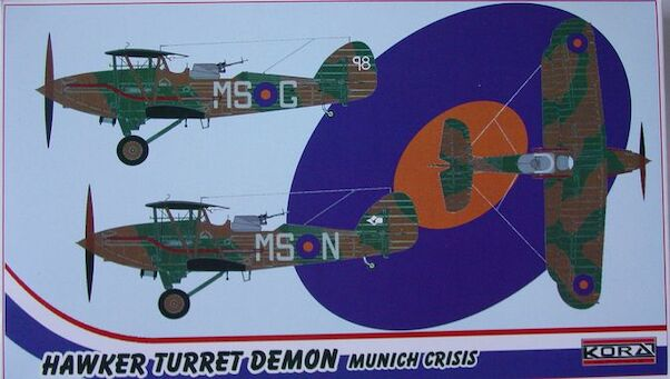 Hawker Turret Demon (RAF Munich Crisis)  72181