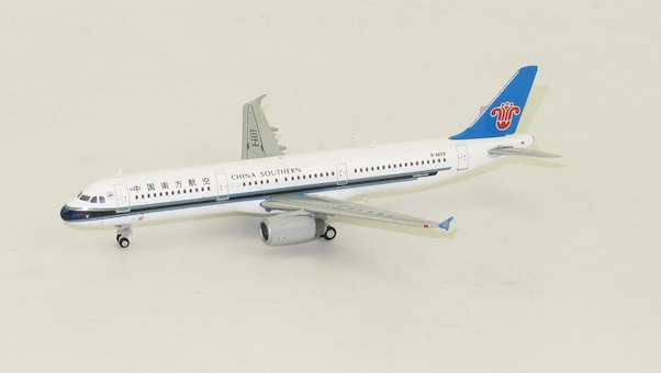 A321(China Southern) B-6659 With Antenna  XX4670
