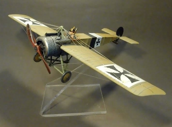 Fokker EII, 33/15, FFA 96, Otto Kissenberth, January 1916 (Plexi stand and pilot NOT included)  ACE-25