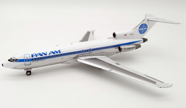 B727-100 (Pan Am) N318PA With Stand  IF721PA02