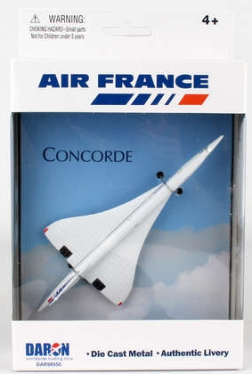 Single Plane for Airport Playset (Concorde Air France)  DAR98950