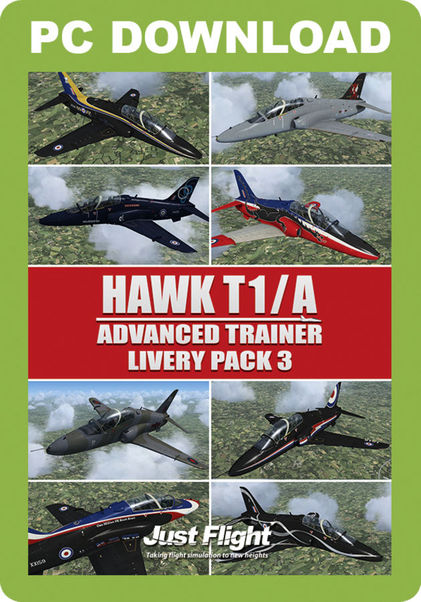 Hawk T1/A Advanced trainer/ Livery Pack 3 (download version)  HAWKLP3