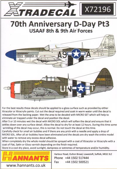 D-Day 70th Anniversary June 1944 Pt 3, US Army 8th and 9th Air Forces  X72196