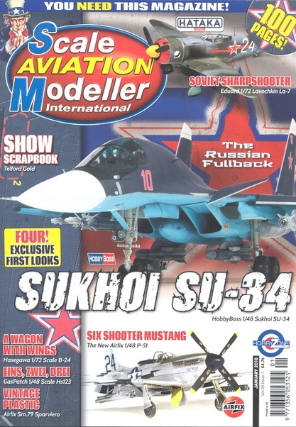 Scale Aviation Modeller Int Vol 24 Issue 1 January 2018  977135605312501