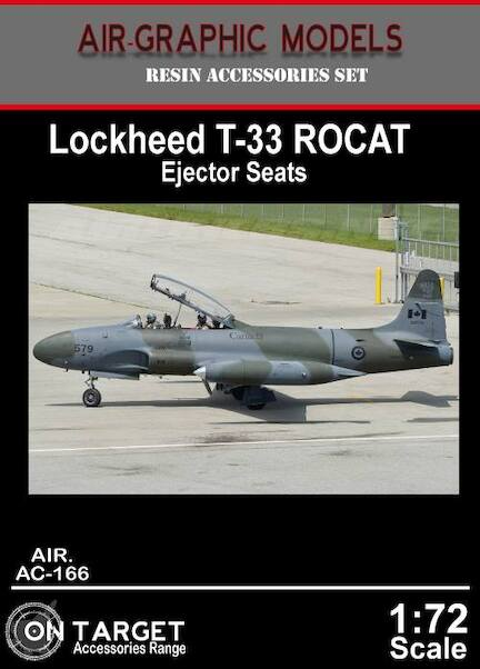 T33 ROCAT ejector seats (2x)  AIR.AC-166