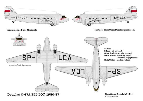 Douglas C47 Dakota (LOT 1950-1956)  LD144-04