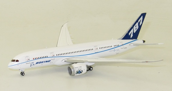 B787-8 (Boeing House Colors) N7874 With Antenna  LH4057