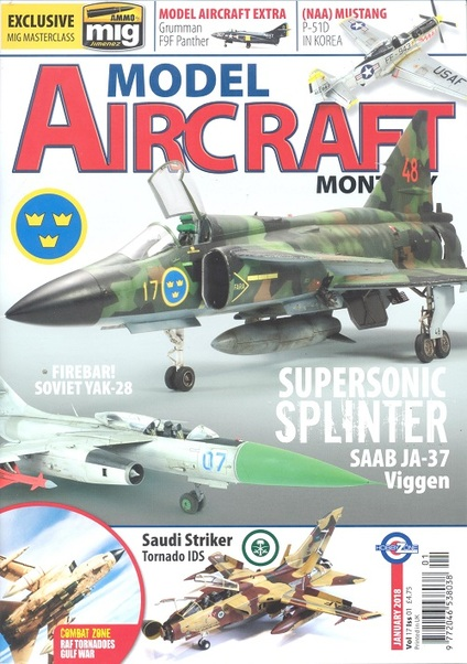 Model Aircraft Vol 17 issue 1  January 2018  977204653803801